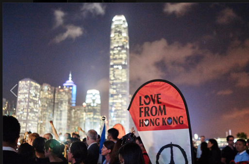 Love from Hong Kong! - 'ROUND THE WORLD